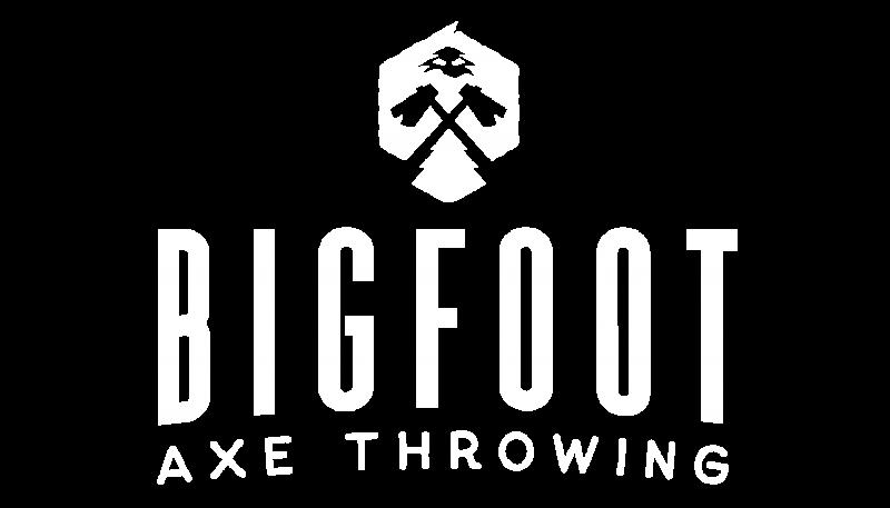 Bigfoot Axe Throwing Logo